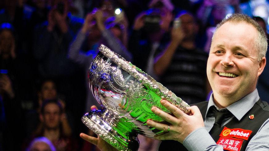 John Higgins beat Ronnie O'Sullivan in a classic 2016 final