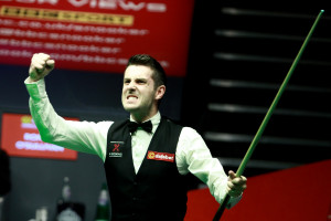Selby celebrates his first world title