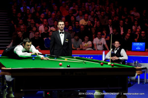 O'Sullivan at the table