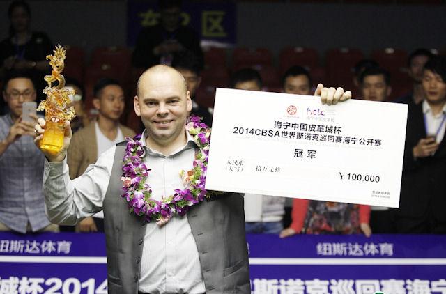 Bingham wins the crown