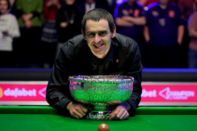 O'Sullivan captures the Champion of Champions title