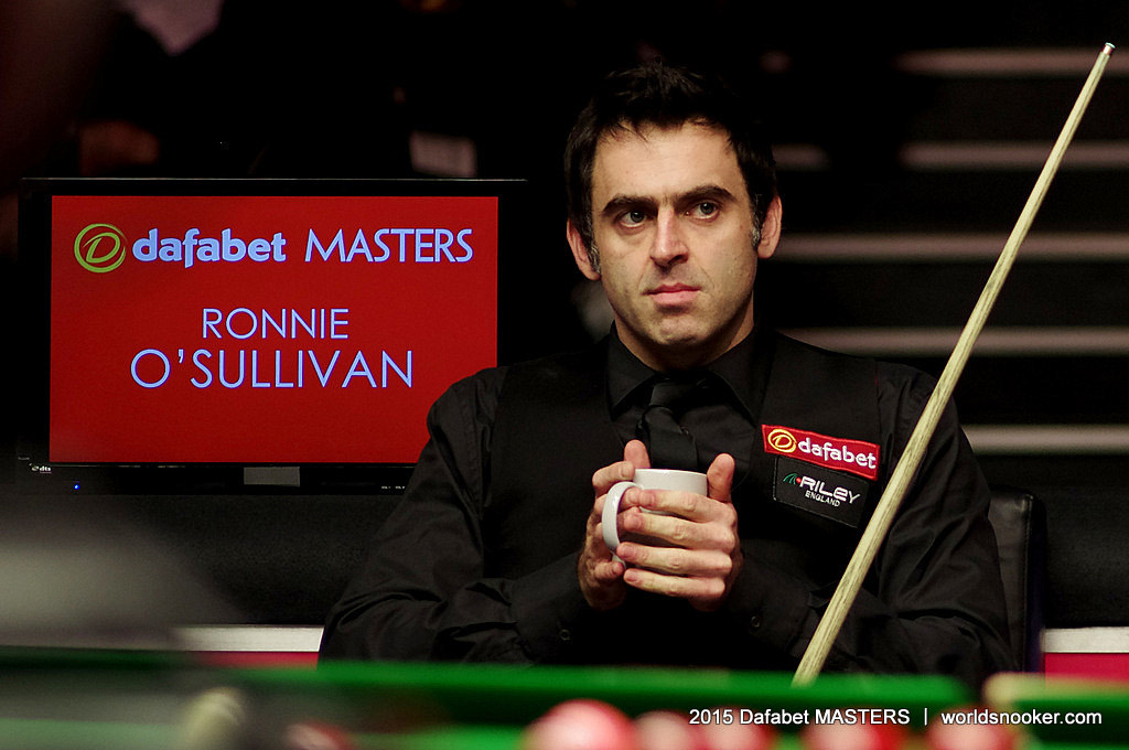 Ronnie O'Sullivan Masters