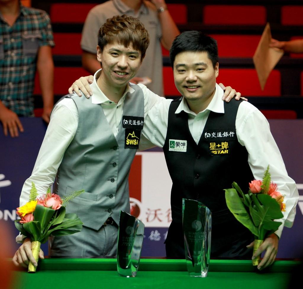 Ding Junhui and Xiao Guodong