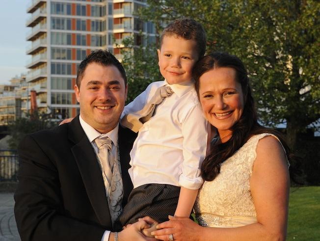 Kurt and Anita Maflin with son Neon