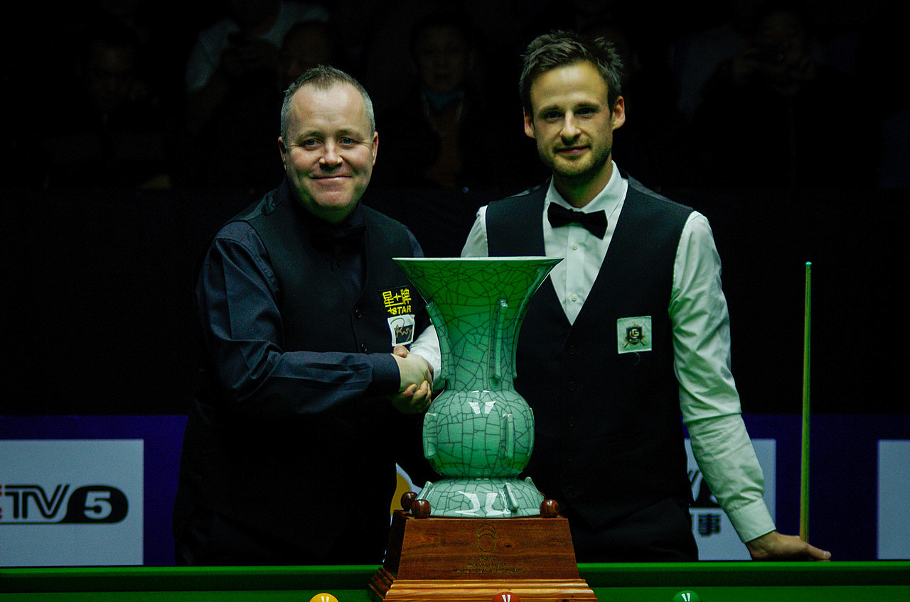 Higgins Equals Davis Tally - World Snooker