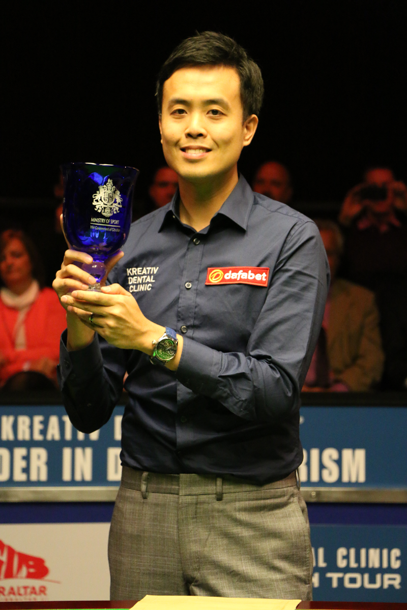 Fu Claims Gibraltar Glory - World Snooker