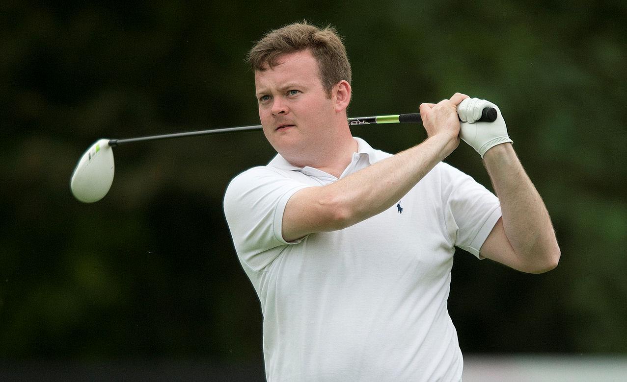 Shaun Murphy golf