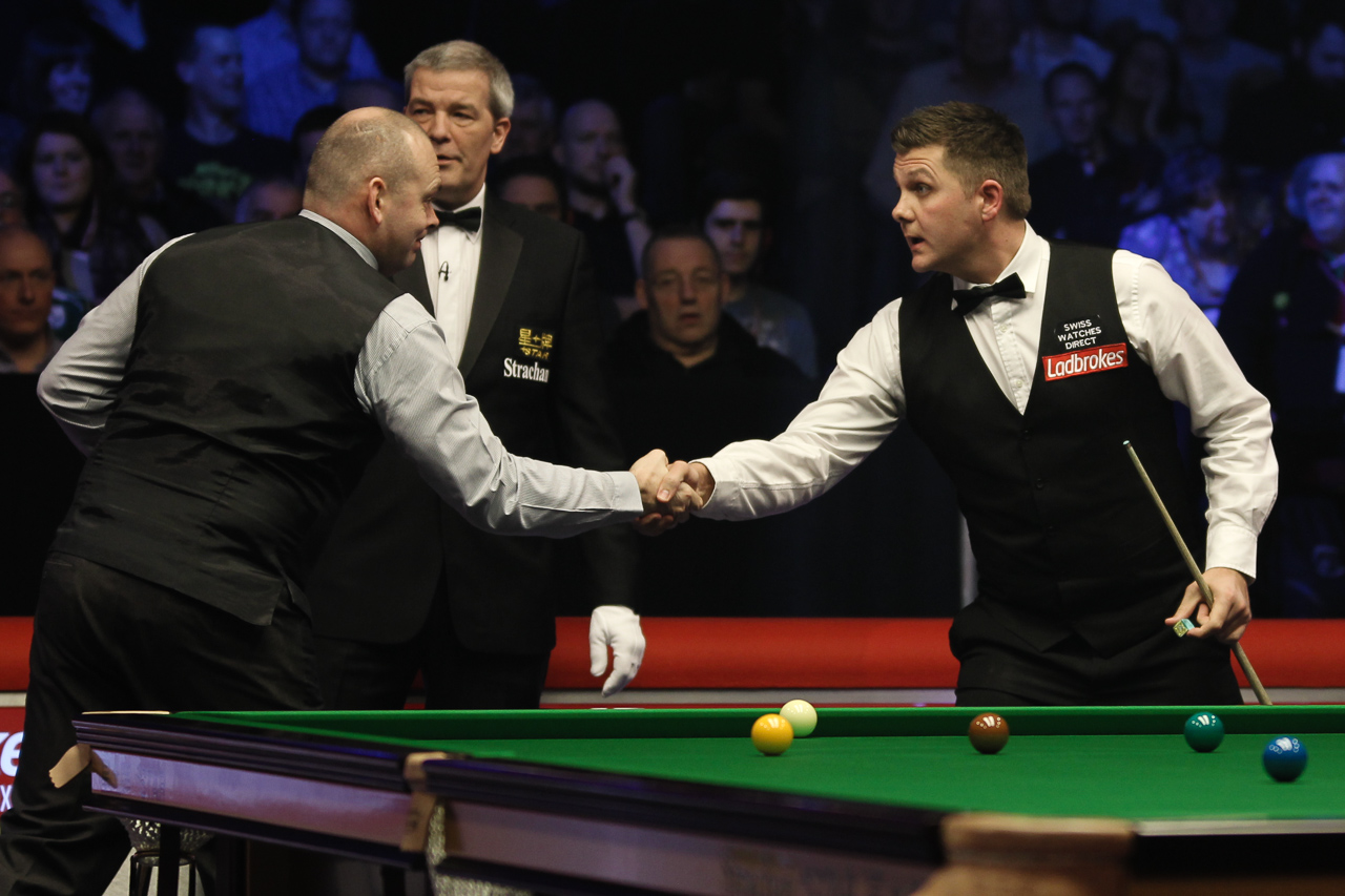 Bingham Handles O'Brien Test - World a full preview of the 2015 2016 ladbrokes championship from  Snooker