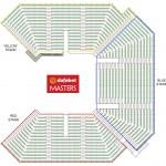 2017 Dafabet Masters Seating Plan