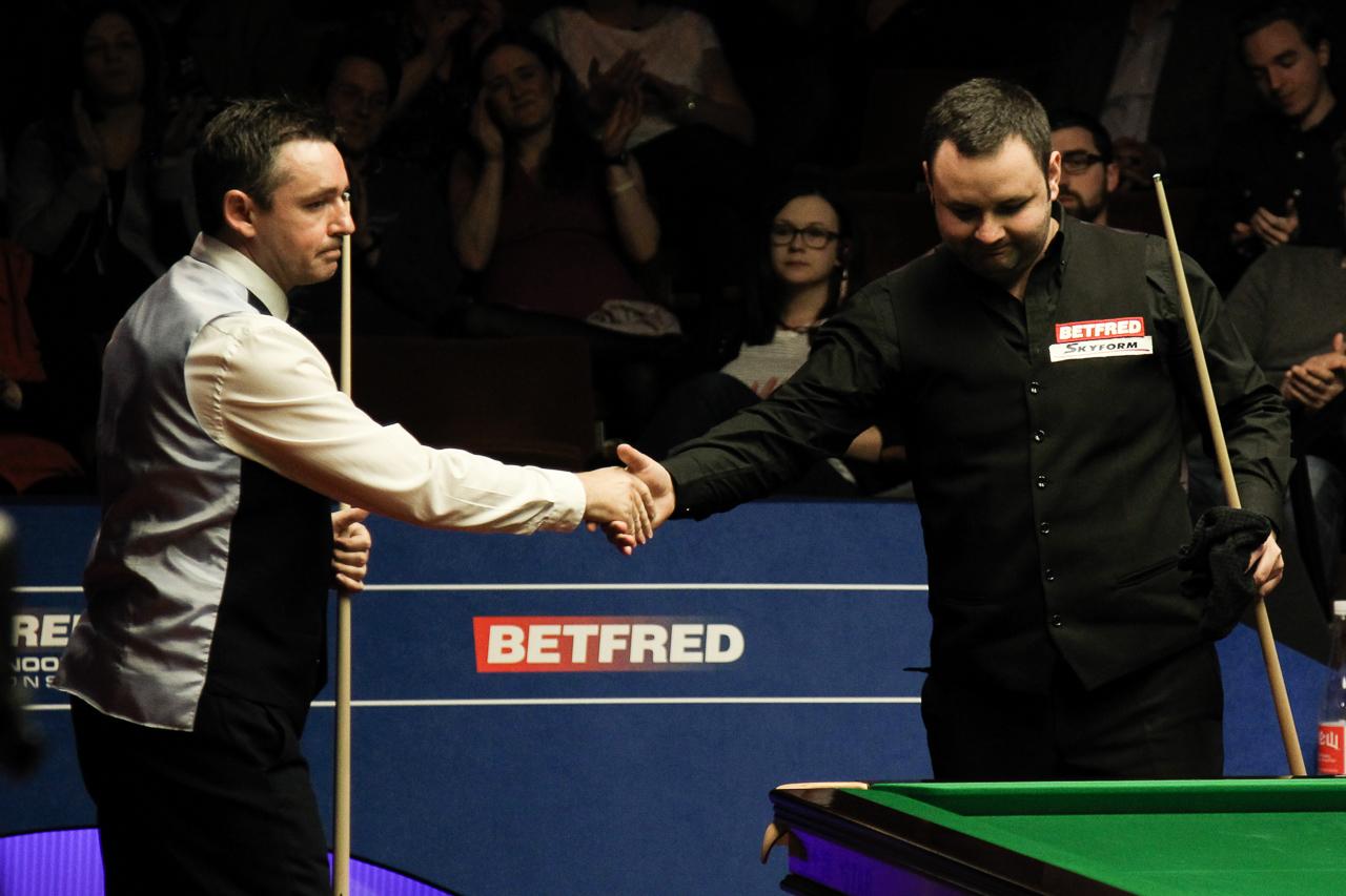 Sullivan Takes ladbrokes promo code, may 2017 6-3 Lead - World Snooker