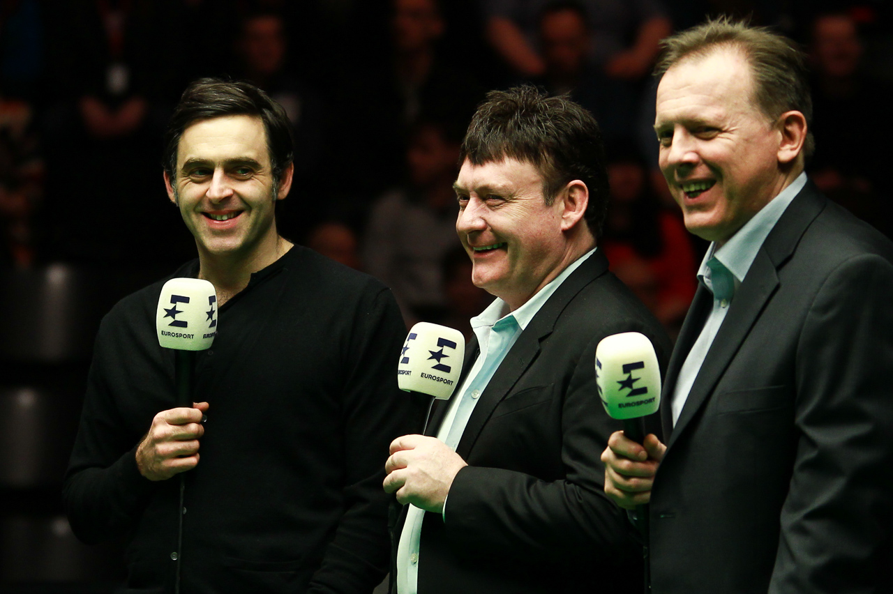 Ronnie O'Sullivan, Jimmy White and Neal Foulds will be among the Eurosport team in Manchester
