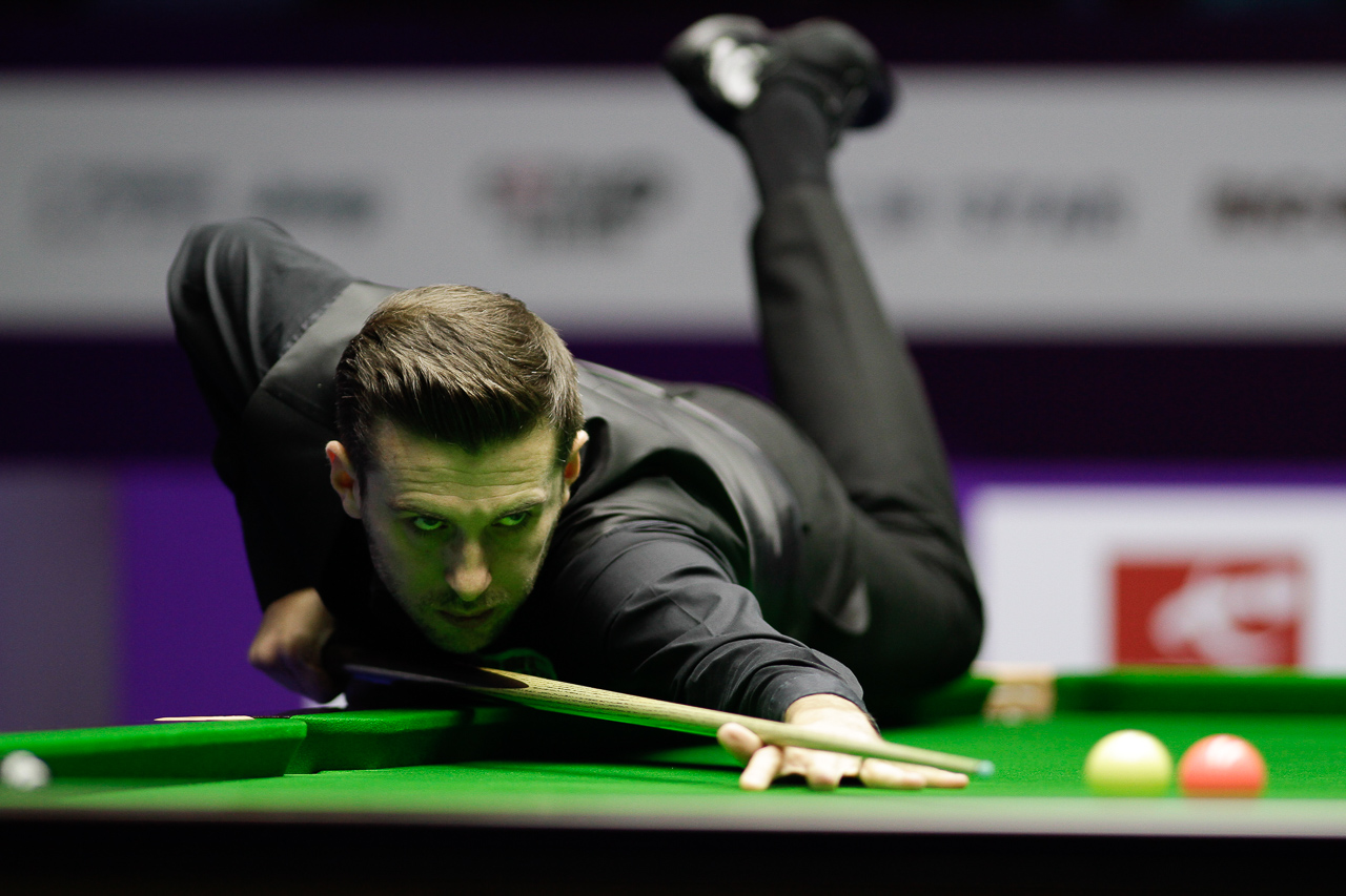 Selby won seven matches in Daqing, winning 49 frames and losing just 20