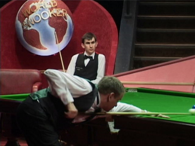 Wallace played Joe Swail in the quarter-finals at the Crucible in 2001