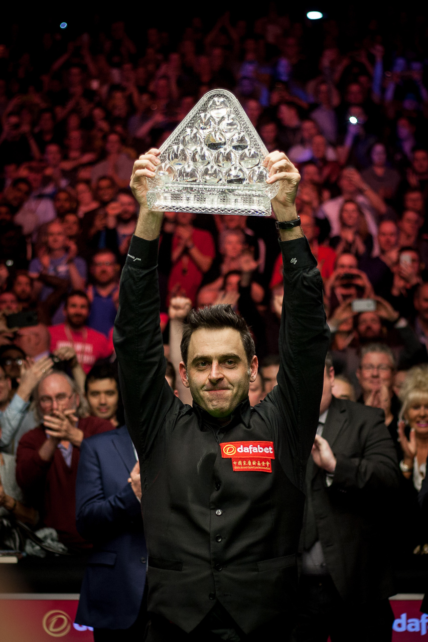O'Sullivan has won the Masters in 1995, 2005, 2007, 2009, 2014, 2016 and 2017