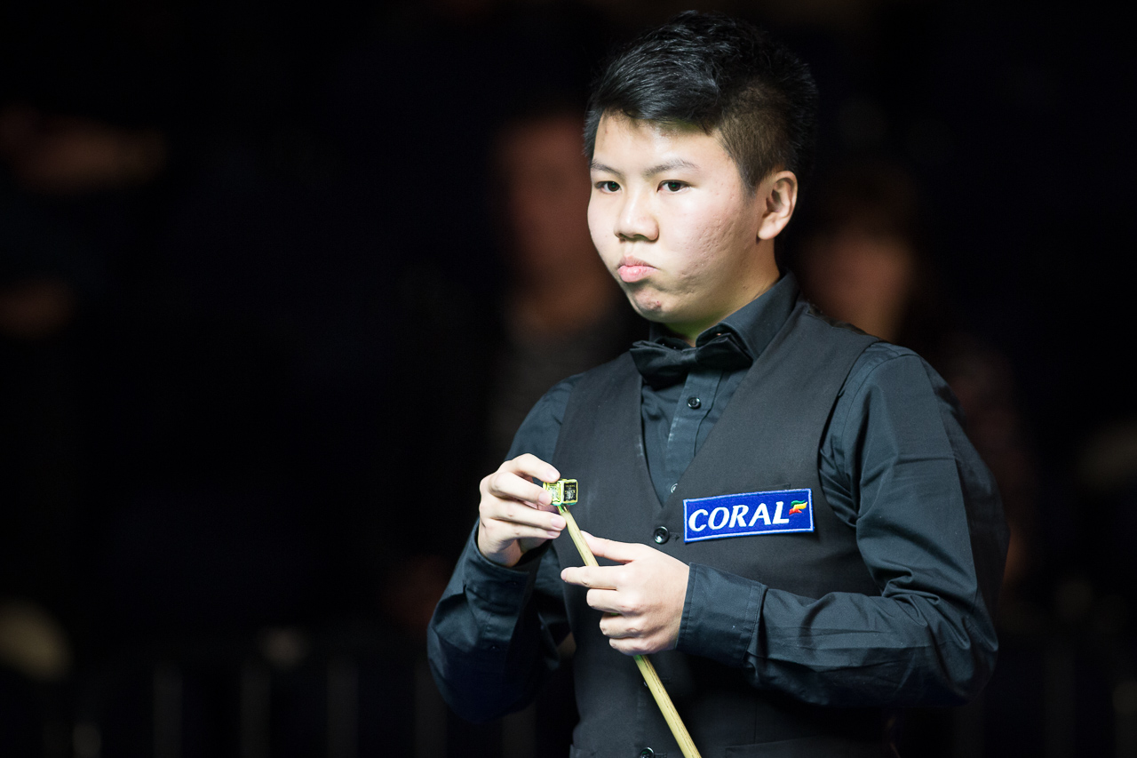 Zhou, 19, has been tipped for the top