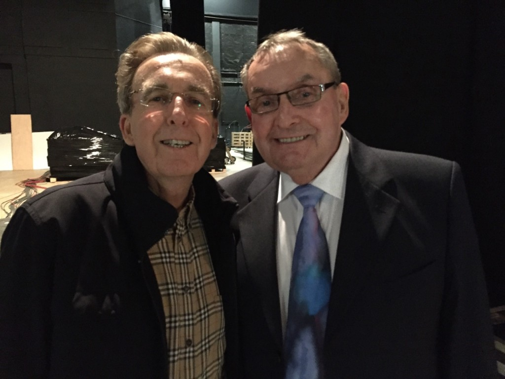 Reardon with fellow Welsh legend Terry Griffiths