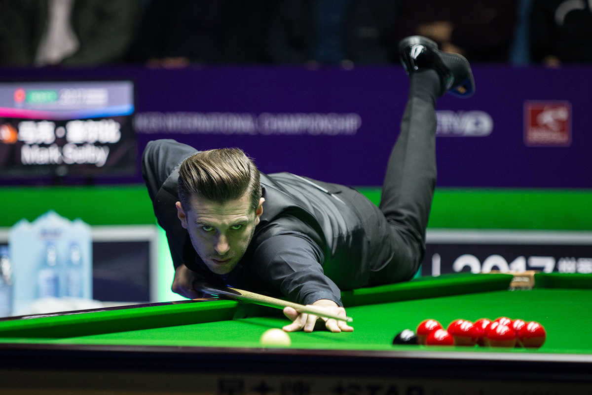 Selby Wins Back-To-Back In Daqing - World Snooker