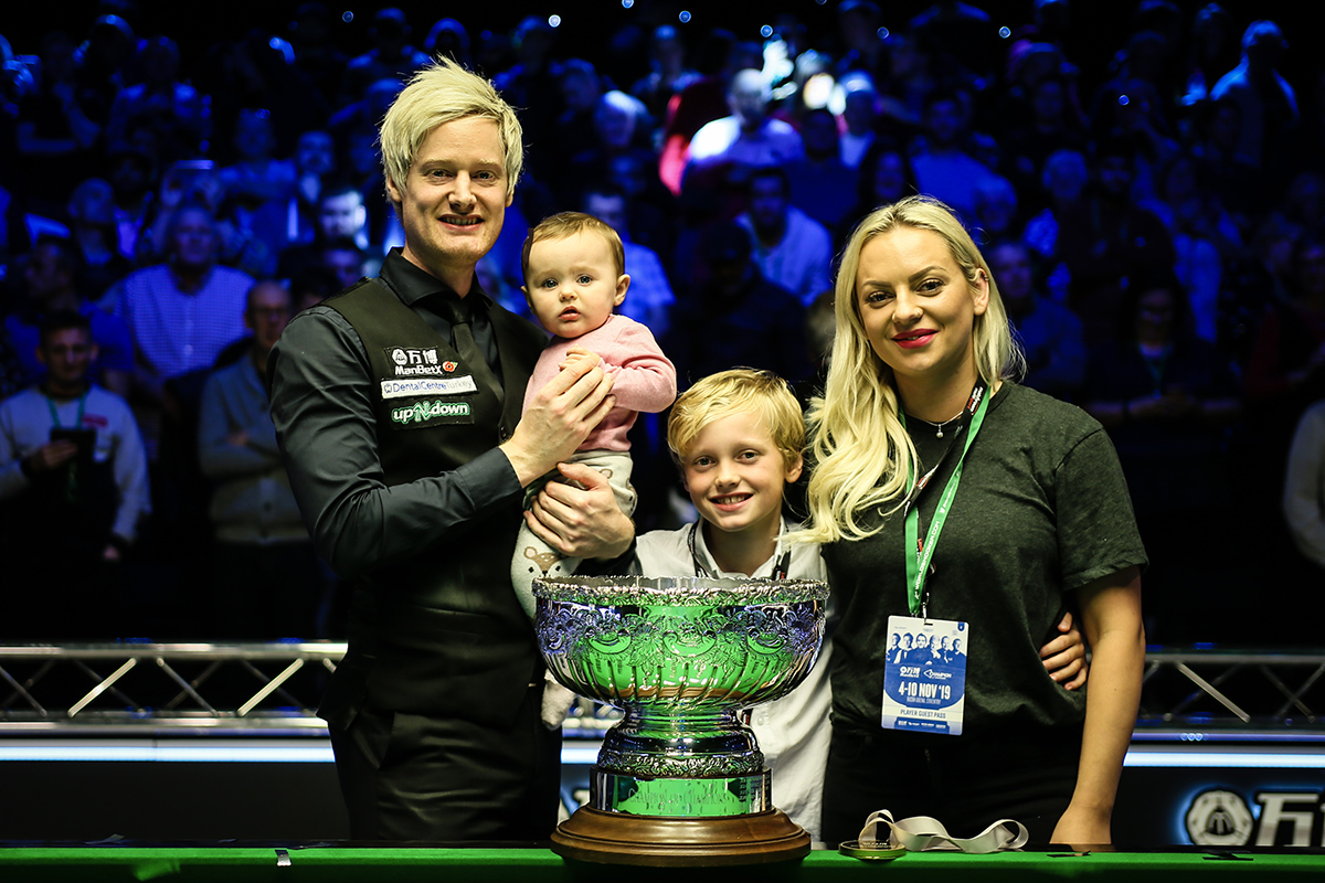 Robertson Beats Trump In Classic Final - World Snooker